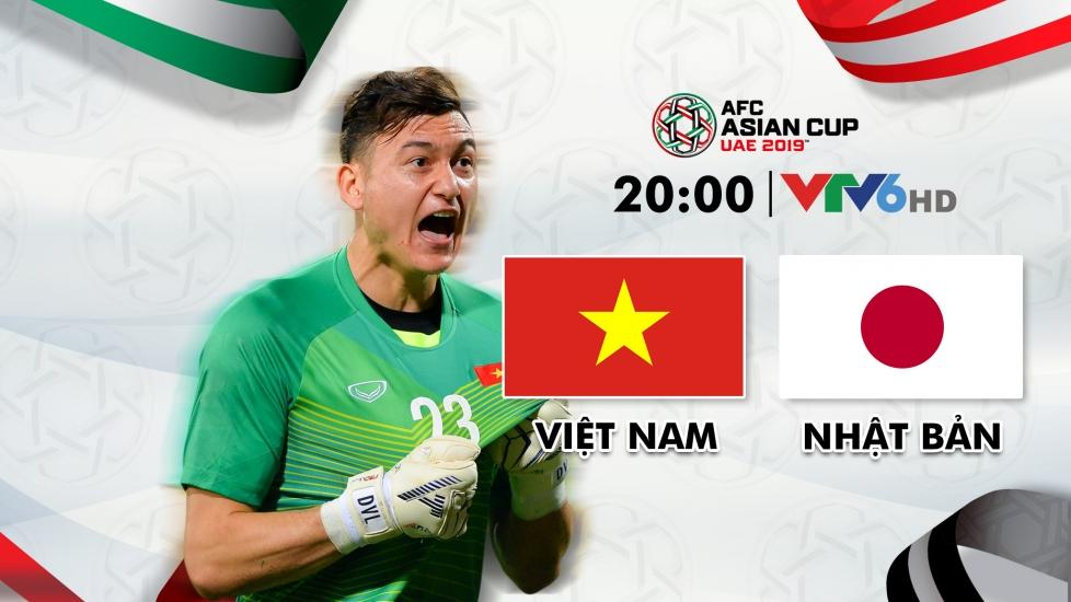 Trực Tiếp Tứ Kết Asian Cup 2019: Việt Nam - Nhật Bản