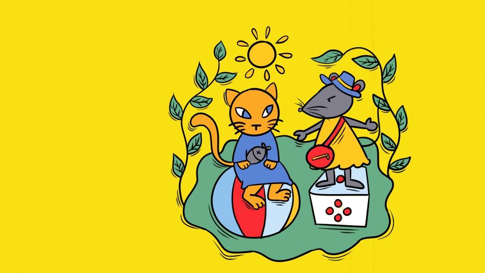 Tình Bạn Giữa Chuột Và Mèo