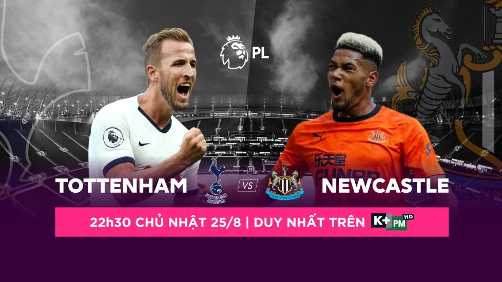 Trực Tiếp Giải Ngoại Hạng Anh 2019/20: Tottenham - Newcastle
