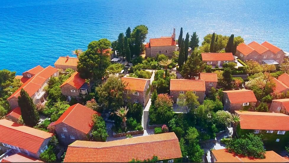 [4K] Khám Phá Sveti Stefan - Điểm Đến Của Montenegro