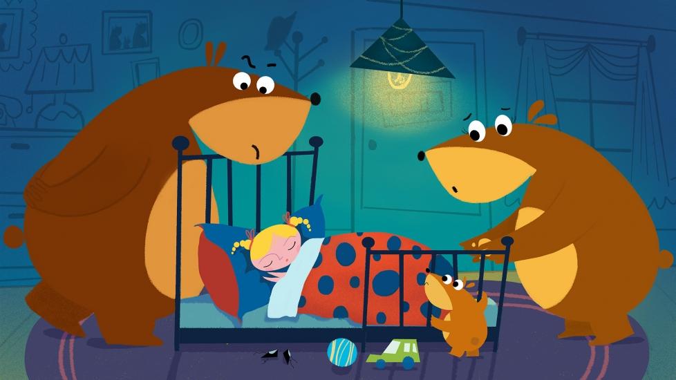 Cô Bé Goldilock Và Ba Bạn Gấu