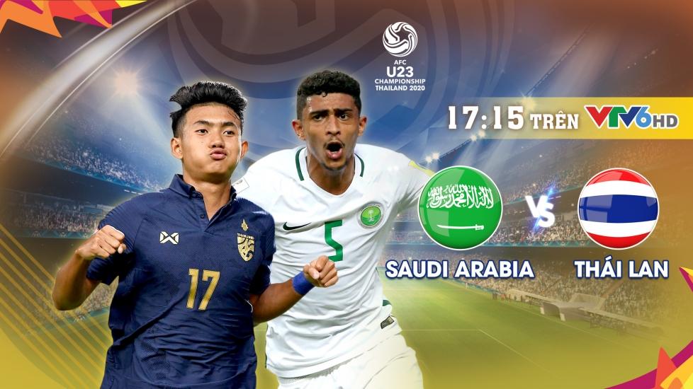 Trực Tiếp Tứ Kết VCK U23 Châu Á 2020: Saudi Arabia vs Thái Lan