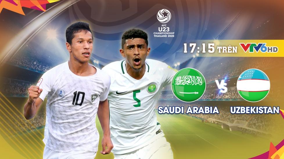 Trực Tiếp Bán Kết VCK U23 Châu Á 2020: U23 Saudi Arabia - U23 Uzbekistan