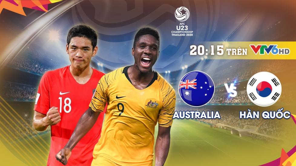 Trực Tiếp Bán Kết VCK U23 Châu Á 2020: U23 Australia - U23 Hàn Quốc