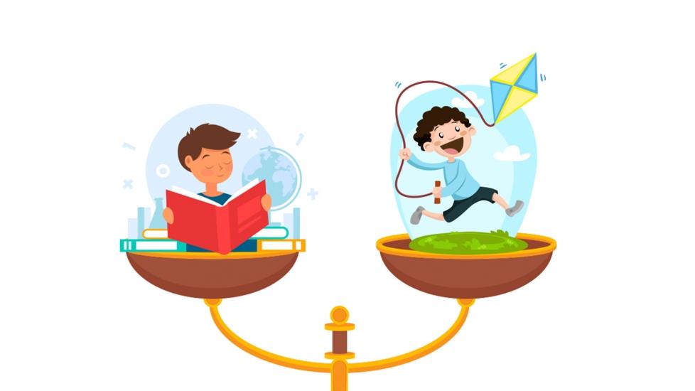 Cân Bằng Việc Học Và Chơi Cho Con