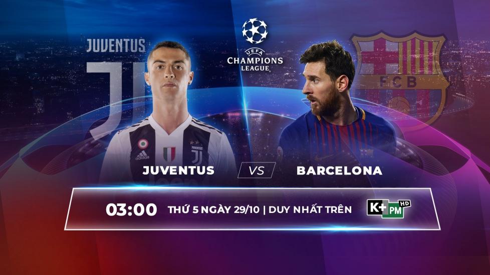 Trực Tiếp Vòng Bảng Champions League 2020-21: Juventus Vs Barcelona