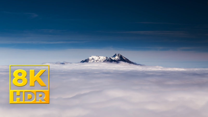[8K] Đắm Chìm Trong Làn Mây Ở Calbuco