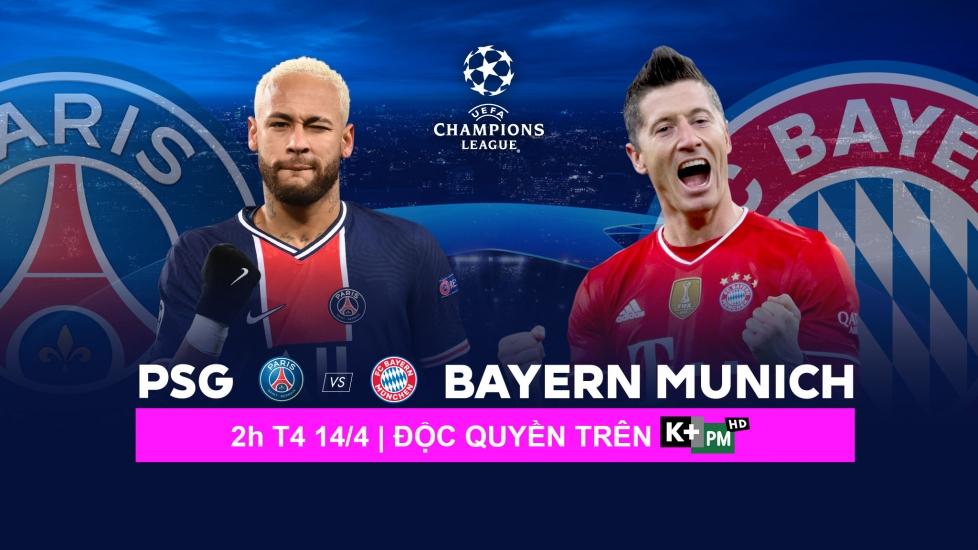 Trực Tiếp Champions League: PSG Vs Bayern Munich