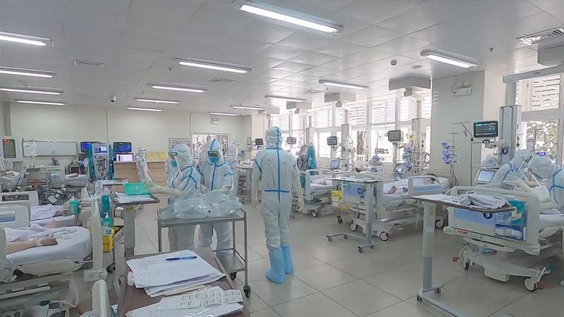 Bệnh Viện Chợ Rẫy Nâng Lên 200 Giường Hồi Sức Để Điều Trị Cho Bệnh Nhân Nặng