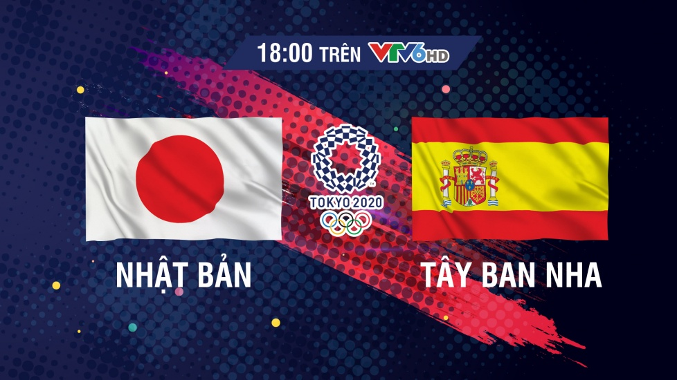 Trực Tiếp Bán Kết Bóng Đá Nam Olympic 2020: Nhật Bản vs Tây Ban Nha