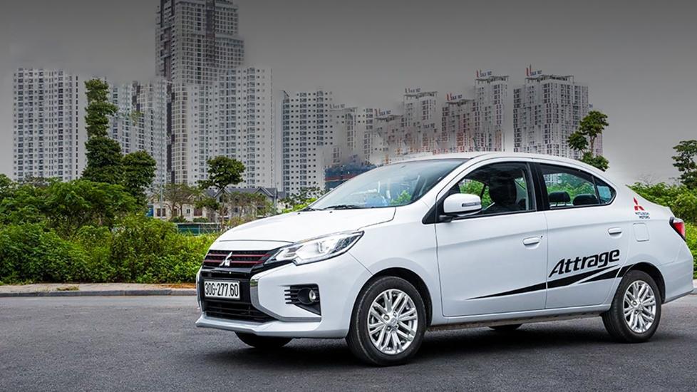 Mitsubishi Attrage 2021 - Vẫn Rộng, Giá Rẻ, Và Đồ Thì Gần Như Full - Xế Cưng Review